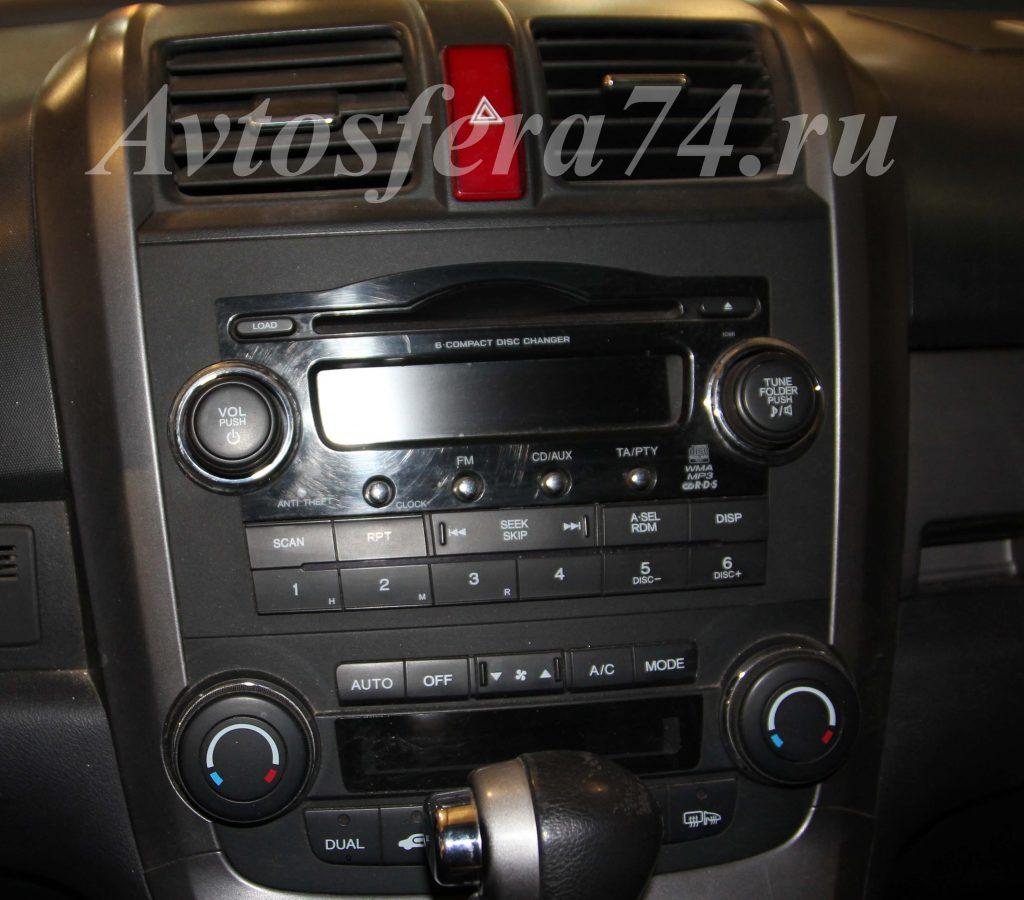 штатная магнитола хонда 2007