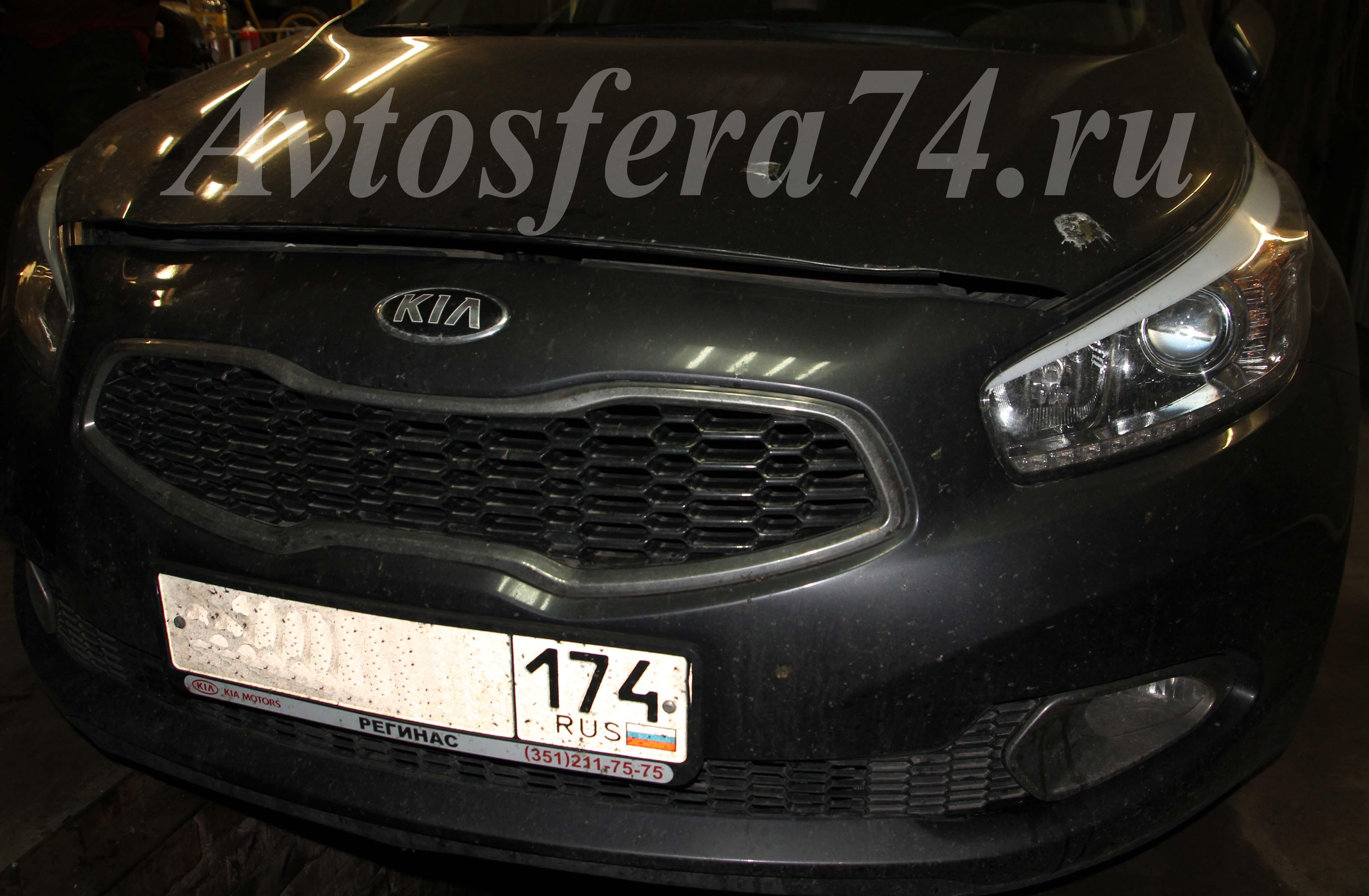 Kia cee'd 2013. Удаление катализатора и перепрошивка под евро2.