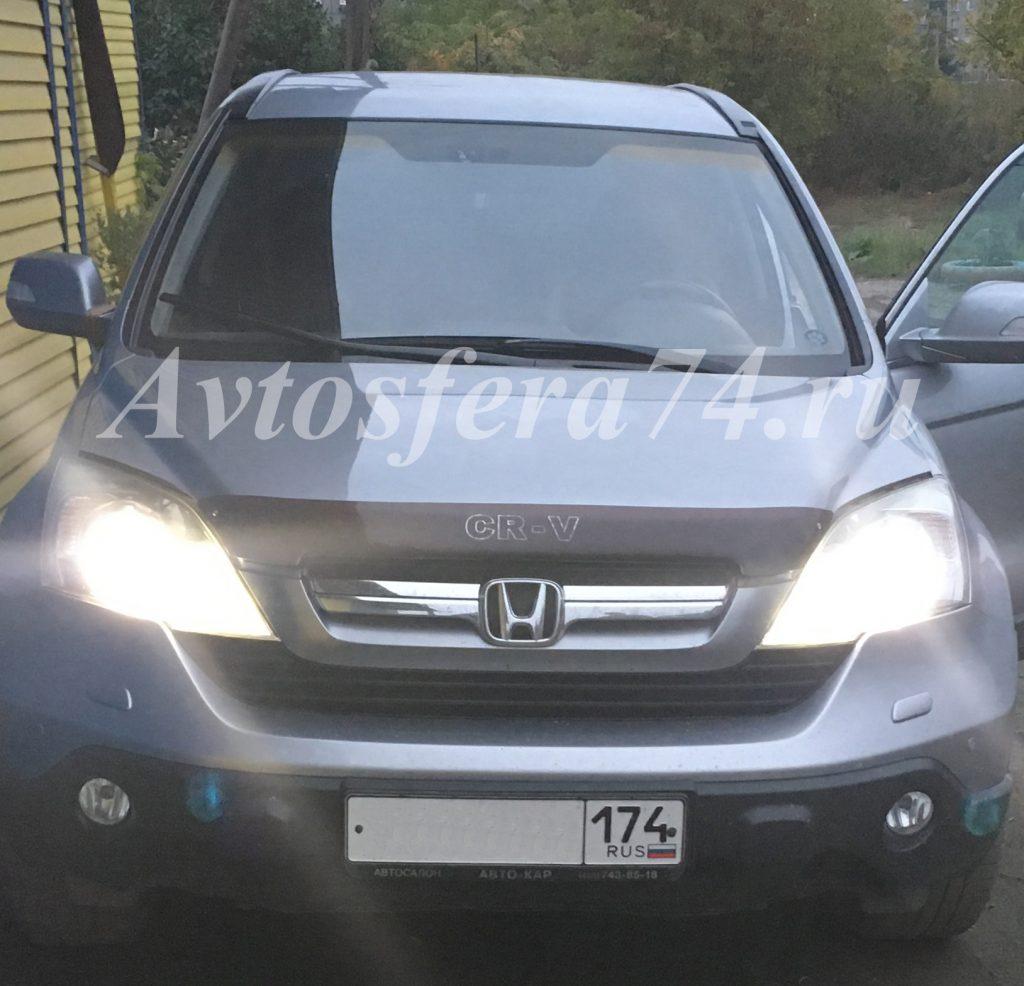 Светодиодные габариты на Honda C-RV