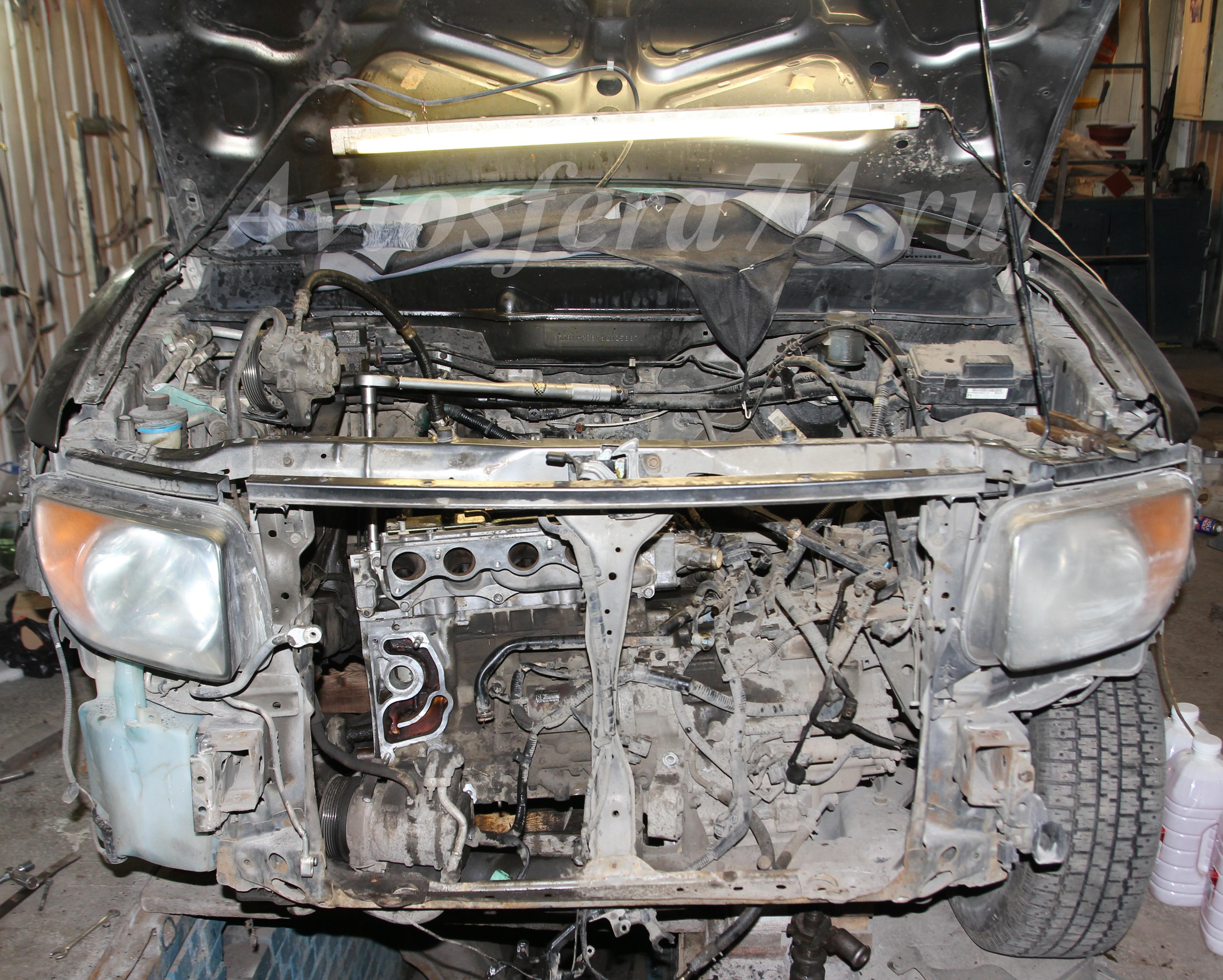 honda element ремонт двигателя