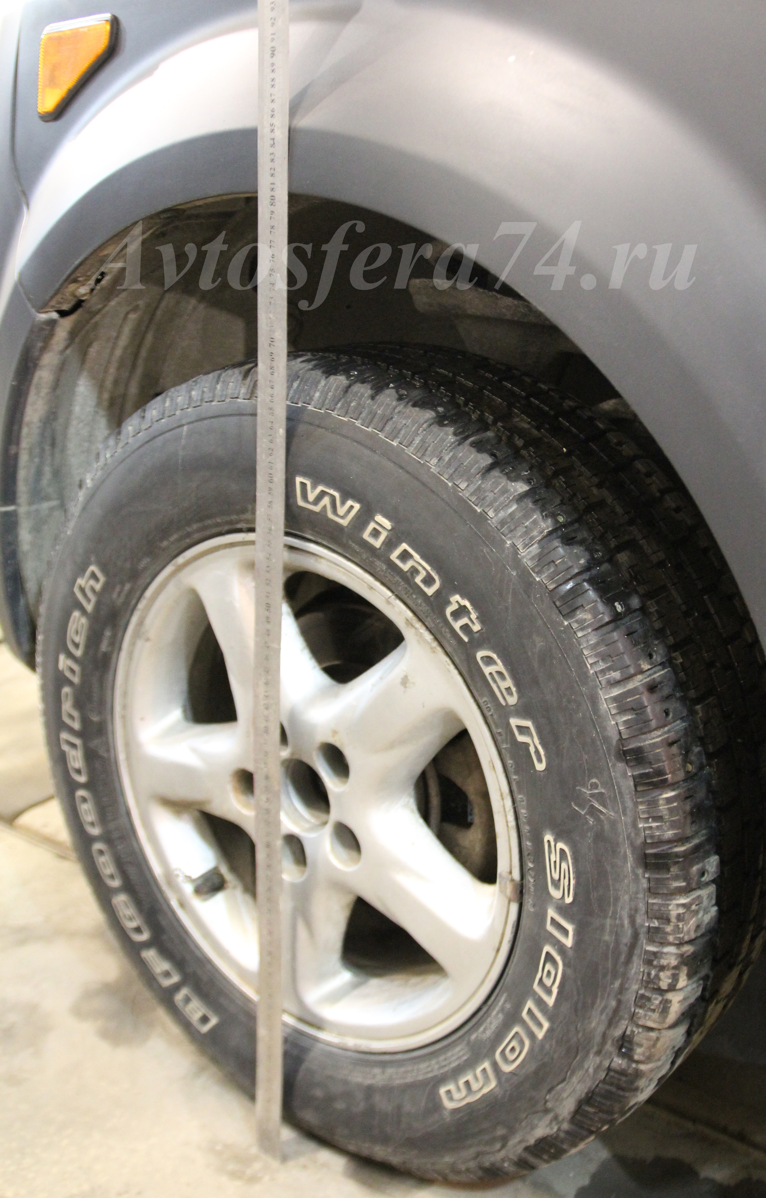 honda element восстановление клиренса передние колеса
