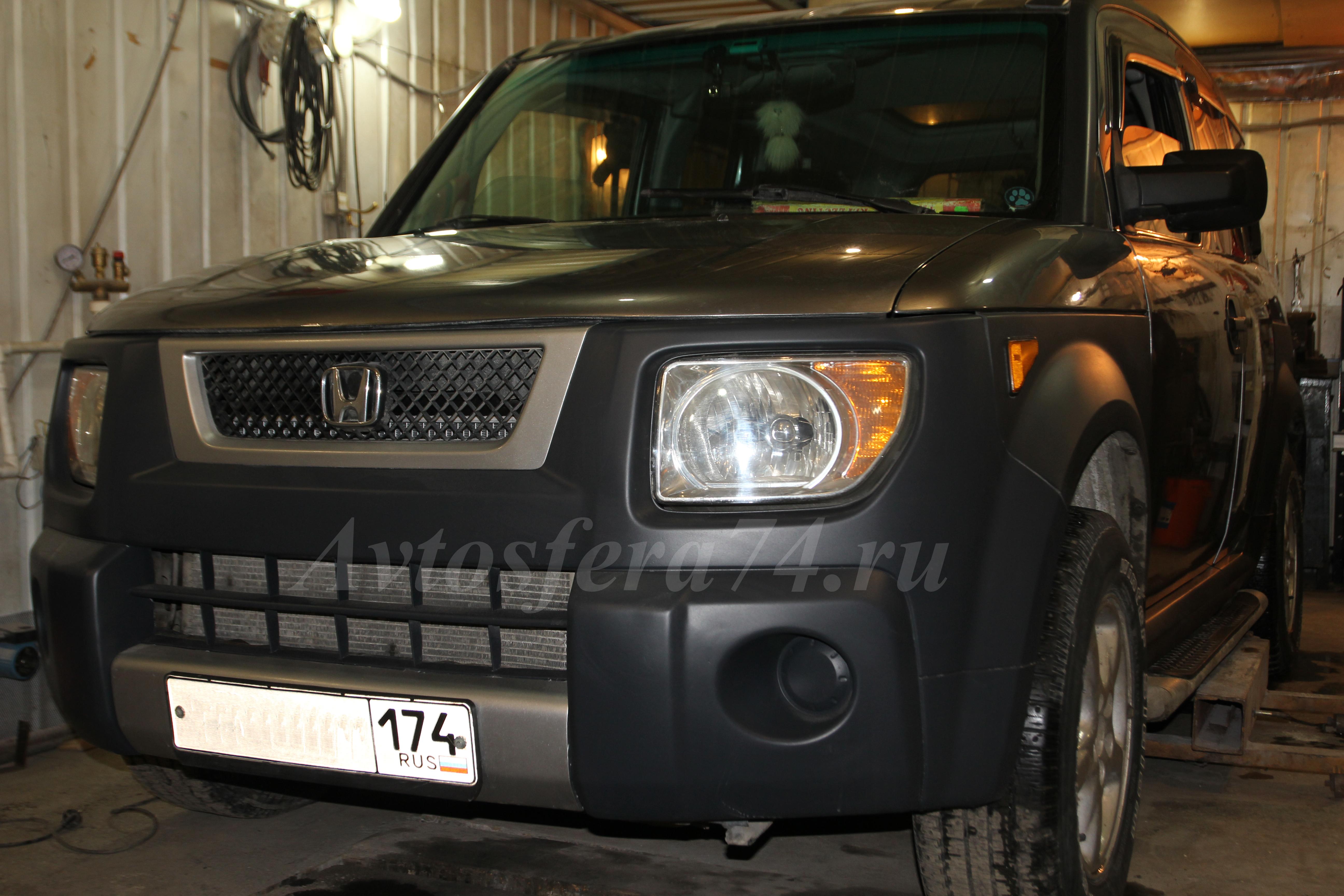 honda element восстановление кузова бампер