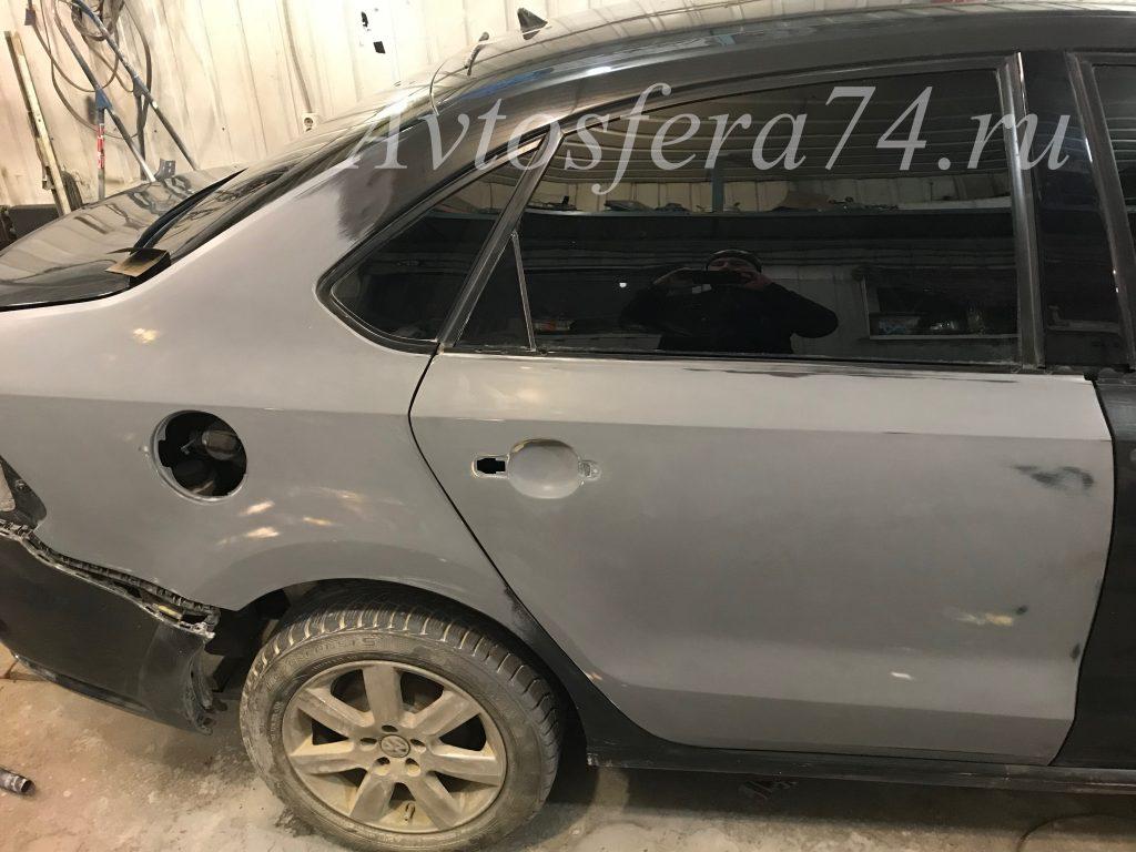 Volkswagen Polo Sedan ремонт кузова крыло