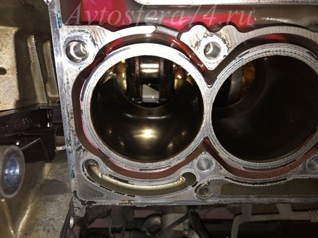 Износ 1-го цилиндра