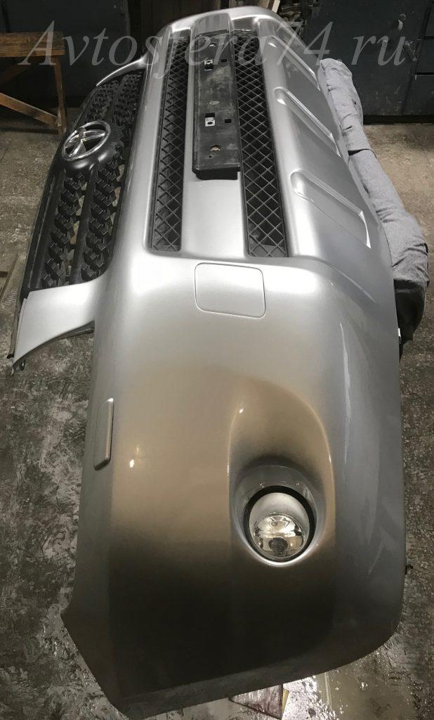 RAV4 покраска бампера